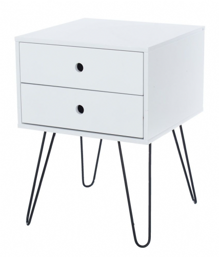 Options Telford 2 Drawer Petite Bedside